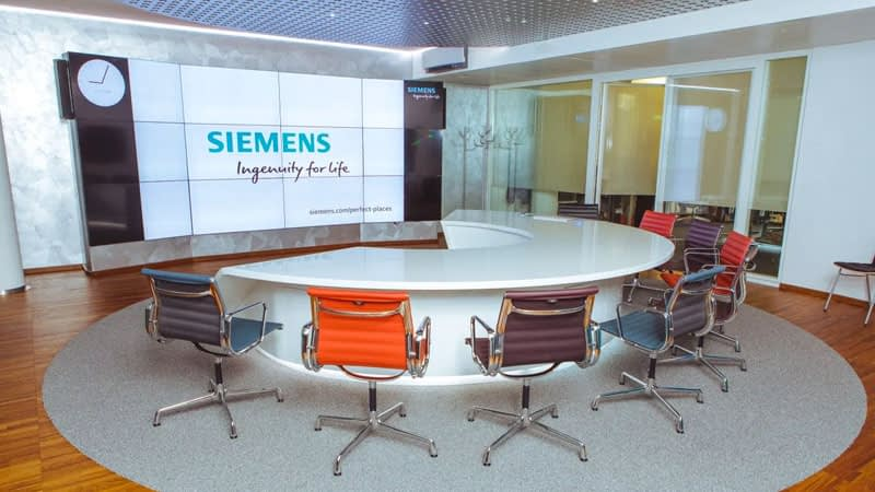 Siemens Video Wall