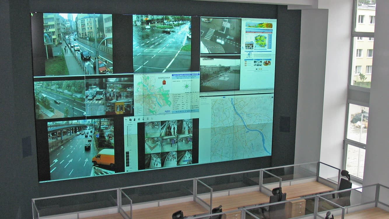 Warsaw Police Station Control Room