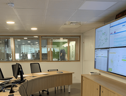 SNCF Control Room