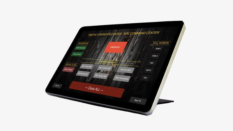 Touch Panel Control