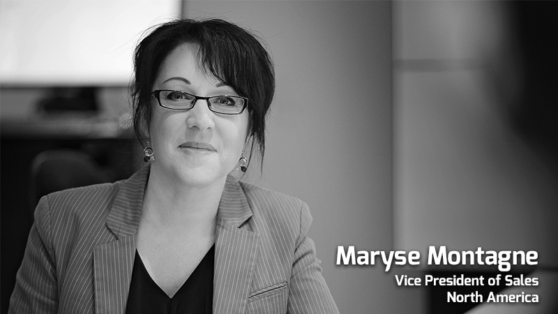 Maryse Montagne VP Sales NAM