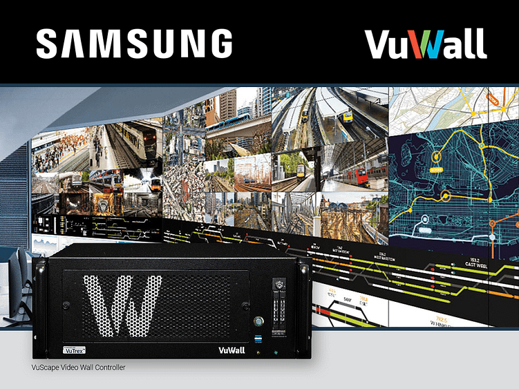 VuWall Samsung Partnership