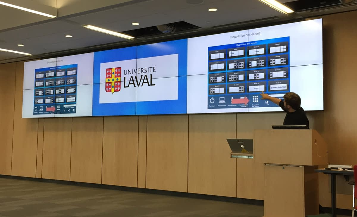 University of Laval Collaboration Room