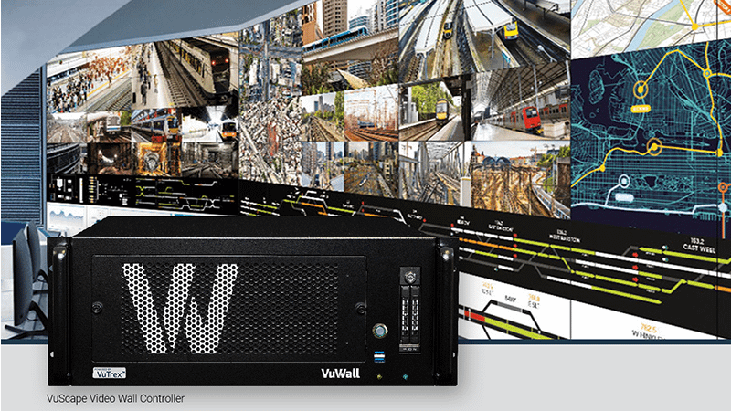Video Wall Controller with LED Wall