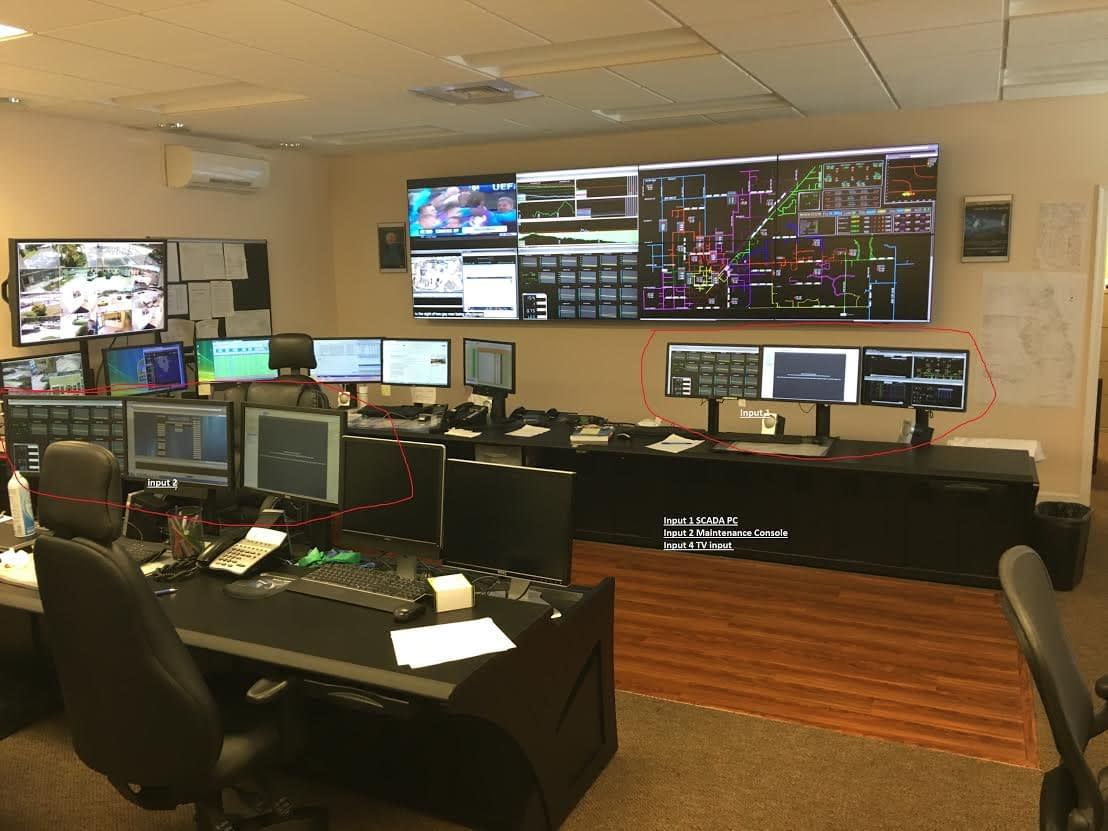 City of Homestead Florida Control Room