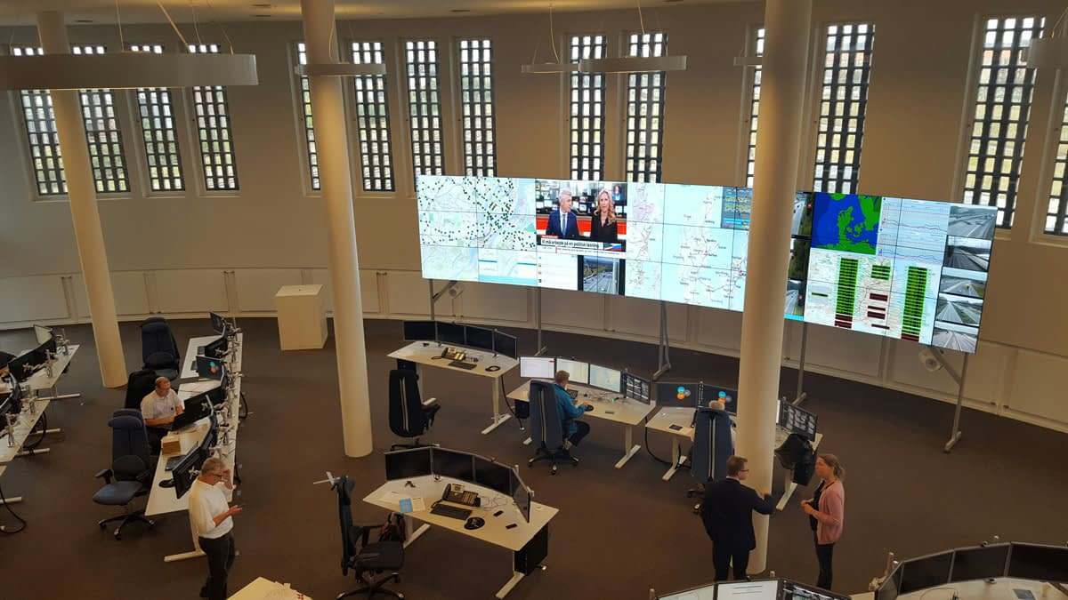 Danish Road Authorities Control Room
