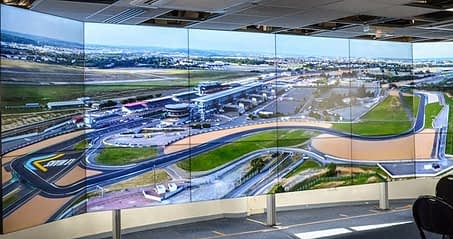 Video Wall Control at 24 hours of LeMans