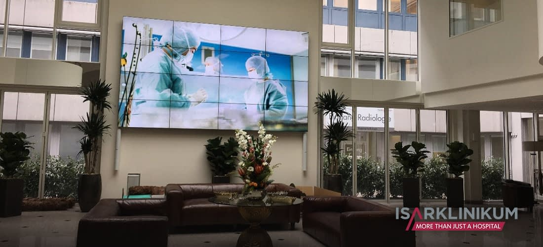 Isar Klinikum Video Wall