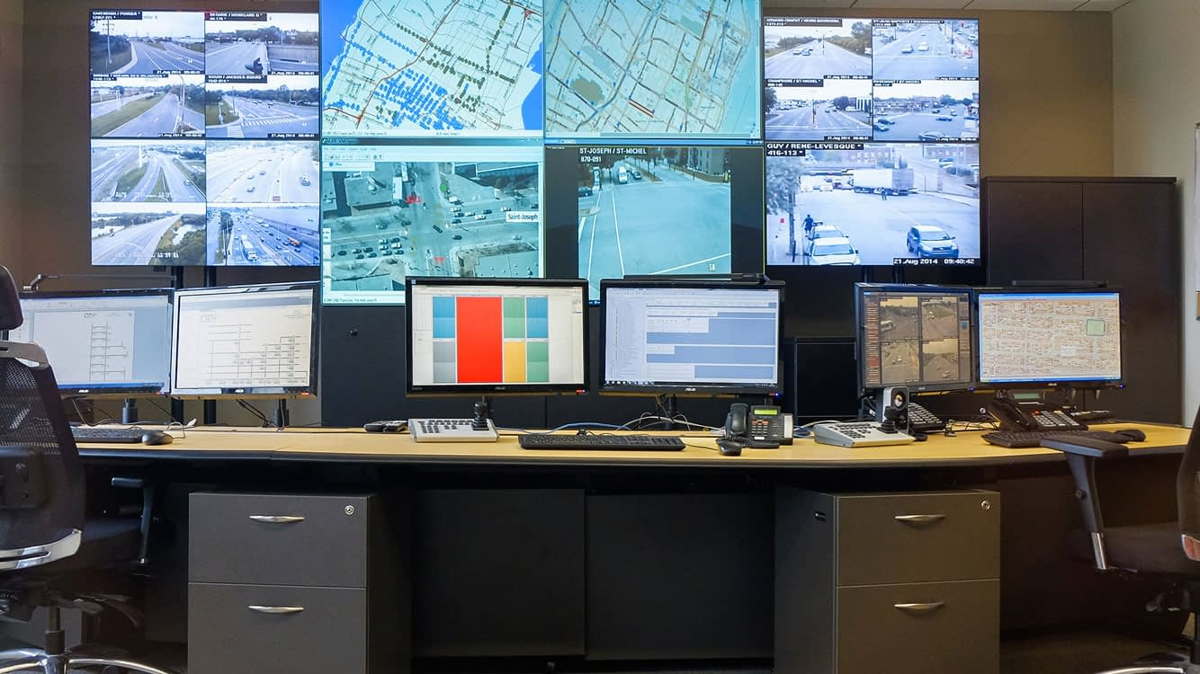 Ciry of Montreal Security Monitoring