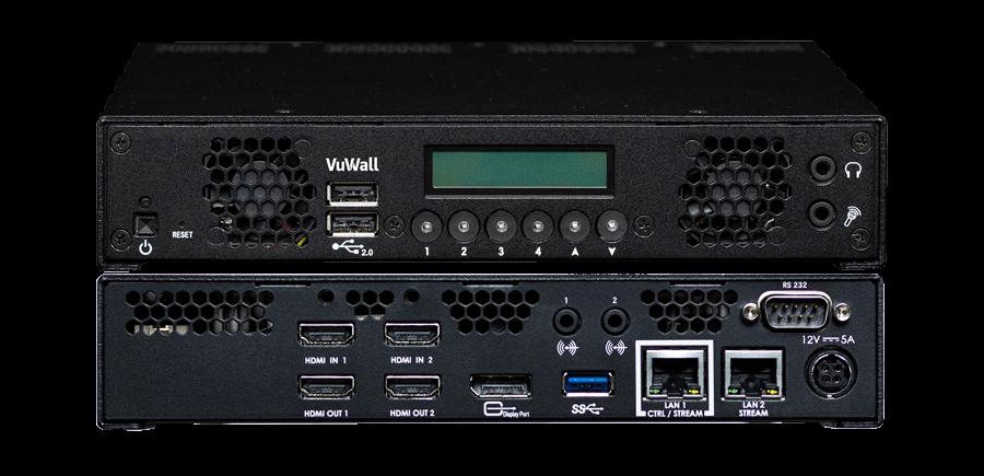 VuStream 200 Front & Back